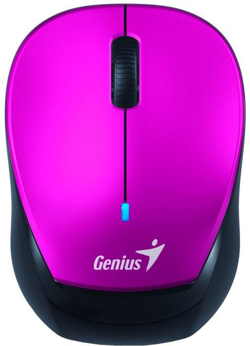 Genius Micro Traveler 9000R V3, černá/fialová