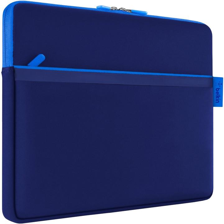 "Belkin Sleeve pouzdro pro Microsoft Surface s kapsou, 12"", modrá"