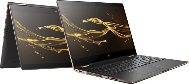 HP Spectre x360 15-ch004nc, černá