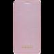 GUESS Bundle Leather Book Case Iridescent + Tempered Glass pro iPhone XR, růžovo/zlatá  + Při nákupu nad 500 Kč Kuki TV na 2 měsíce zdarma vč. seriálů v hodnotě 930 Kč