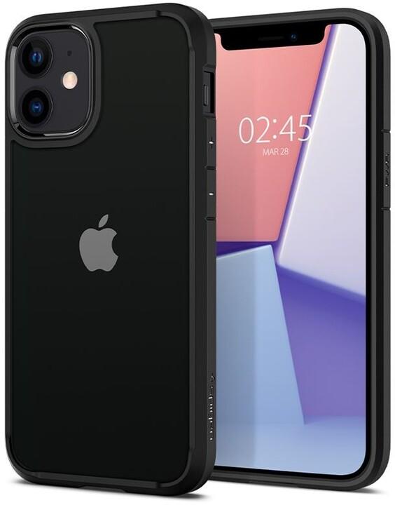 Spigen ochranný kryt Ultra Hybrid pro iPhone 12 mini, černá
