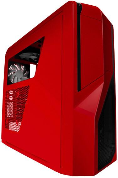 NZXT Phantom 410, červená