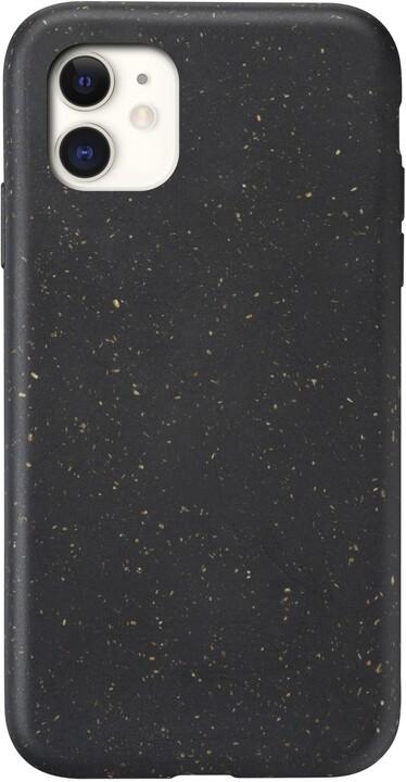 CellularLine kompostovatelný eko kryt Become pro Apple iPhone 11, černá