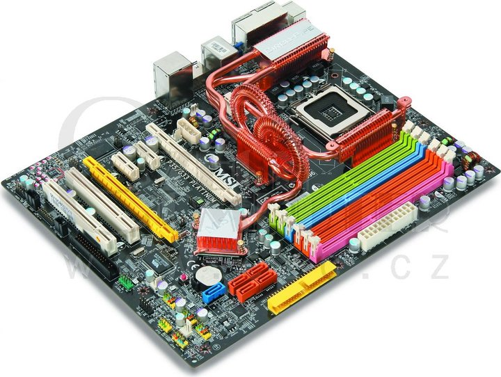 MicroStar P35 Platinum Combo - Intel P35