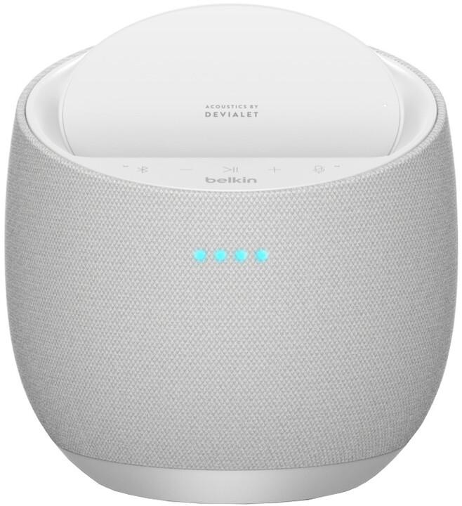 Belkin SoundForm Elite Hifi Smart Speaker Alexa and AirPlay2, White