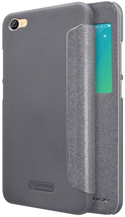 Nillkin Sparkle S-View Pouzdro Black pro Xiaomi Redmi Note 5A