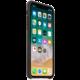 Apple kožený kryt na iPhone X, uhlově šedá