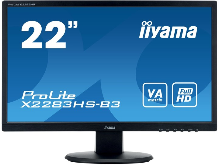 "iiyama X2283HS-B3 - LED monitor 21,5"""