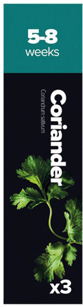Plantui Coriander, 3 kapsle, koriandr setý