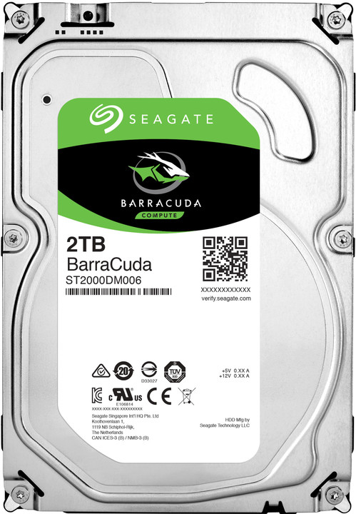 Seagate BarraCuda - 2TB