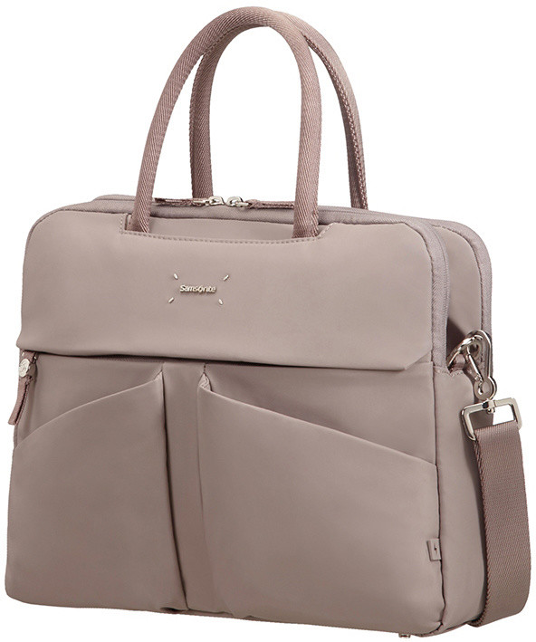 "Samsonite Lady Tech ORGANIZ. BAILHANDLE 14.1"", smoke"