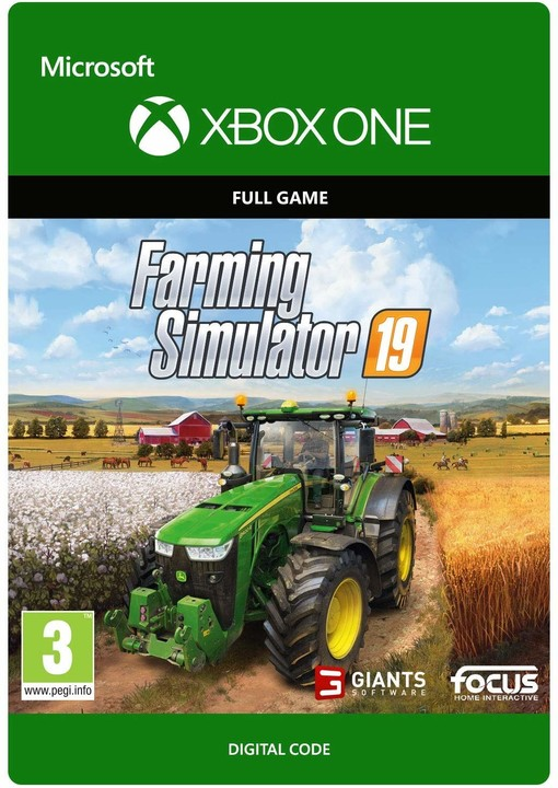 Farming Simulator 19 (Xbox ONE) - elektronicky