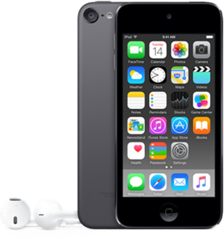 Apple iPod touch - 32GB, šedá, 6th gen.