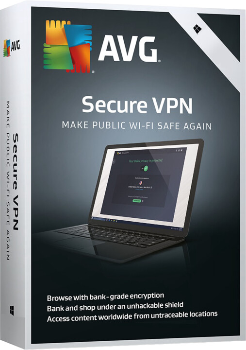 AVG Secure VPN - 1 licence, (36 měs.)