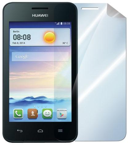 CELLY ochranná fólie displeje pro Huawei Ascend Y330, lesklá, 2ks