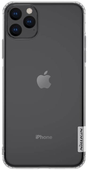 Nillkin Nature TPU pouzdro pro iPhone 11 Pro Max, transparentní