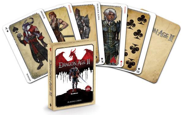 Dragon Age II - hrací karty