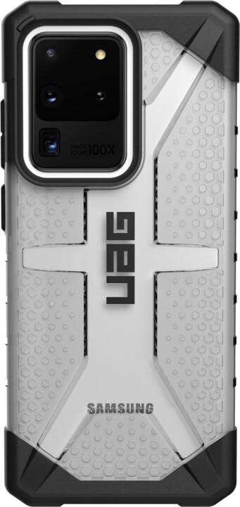 UAG ochranný kryt Plasma pro Samsung Galaxy S20 Ultra, ice clear