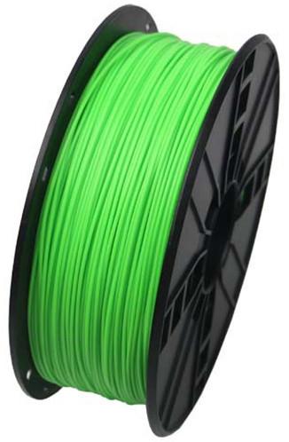 Gembird tisková struna (filament), ABS, 1,75mm, 1kg, fluorescentní zelená