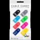 Cable Candy kabelový organizér Tag, 8 ks, různé barvy