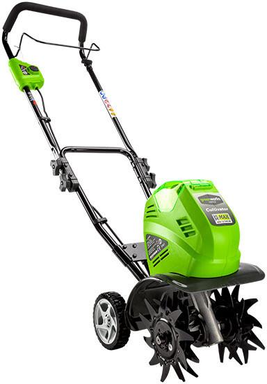 Greenworks Aku kultivátor G40TL 40V