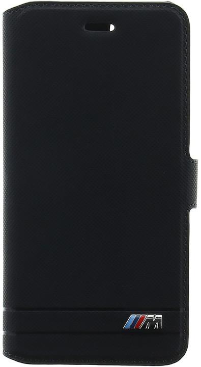 BMW M Experience pouzdro typu kniha pro iPhone 7/8, černé