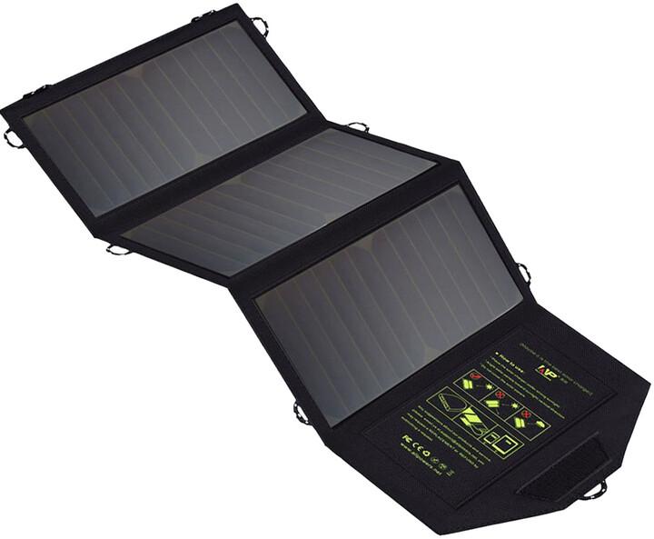 Allpowers solární nabíječka, 21W