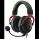 HyperX Cloud II, červená  + O2 TV s balíčky HBO a Sport Pack na 2 měsíce (max. 1x na objednávku)