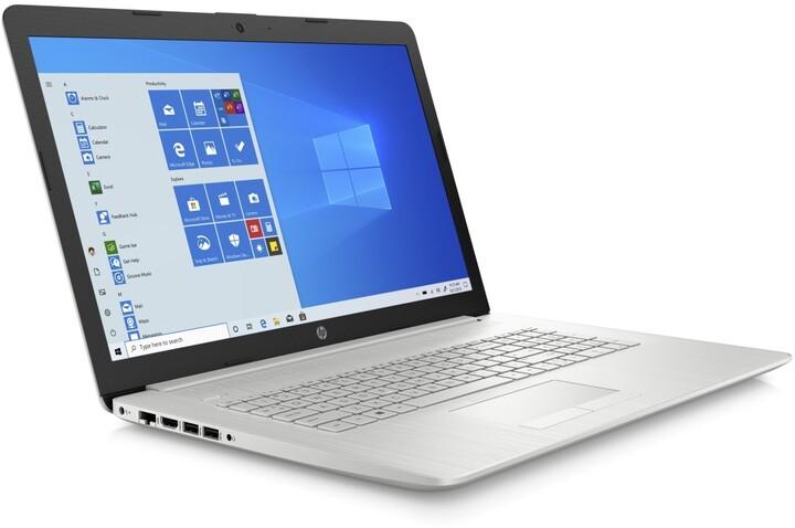 HP 17-ca2001nc, stříbrná