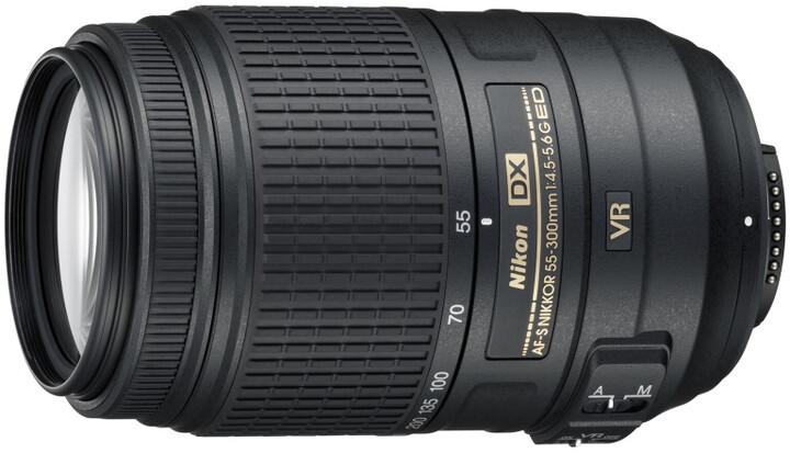 Nikkor 55-300mm f/4.5-5.6G ED VR AF-S DX