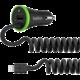 Belkin USB micro nabíječka do auta 2.4A+1A, vč. Lightning kabelu, černá