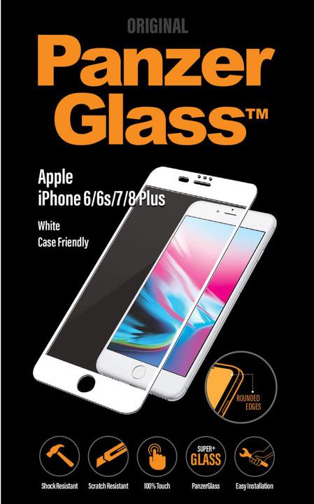PanzerGlass Premium Privacy pro Apple iPhone 6/6s/7/8 Plus, bílé