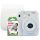 Fujifilm Instax MINI 9, bílá, big bundle