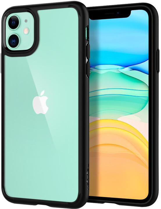 Spigen Ultra Hybrid iPhone 11, černá