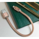 PlusUs LifeStar Designer USB Charge & Sync cable Lightning - Rose Gold