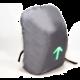 Port Designs GO LED batoh na 15,6'' notebook a 10,1'' tablet, šedo-hnědá