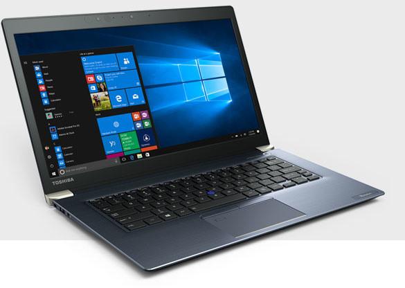 Toshiba Tecra (X40-D-11F), modrá