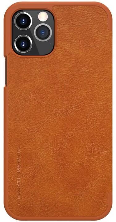 "Nillkin pouzdro Qin Book pro iPhone 12 Pro Max (6.7""), hnědá"