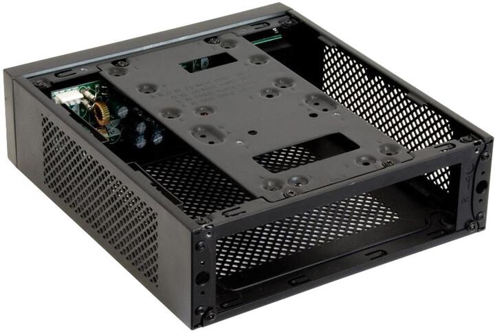 Chieftec Compact Series IX-03B-85W se zdrojem 85W, černá