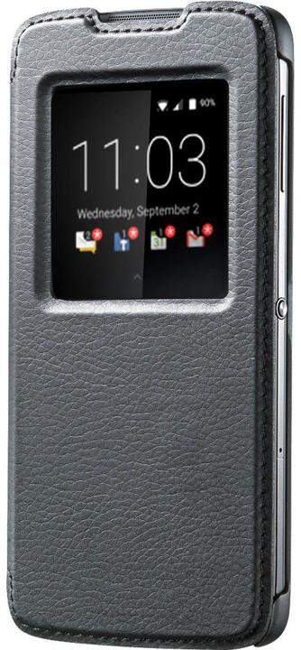 BlackBerry flipové pouzdro kožené Smart pro BlackBerry DTEK50, černá