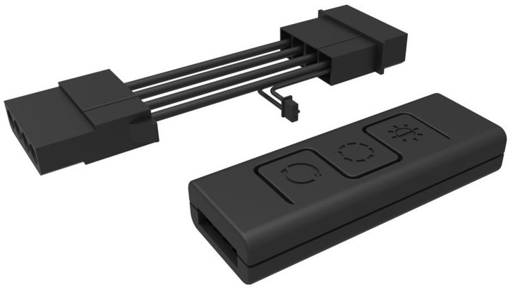 CoolerMaster C10L, kabelový ovladač pro RGB ventilátory