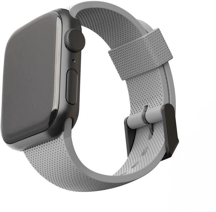 U by UAG silikonový řemínek pro Apple Watch, 42/44mm, šedá