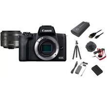 Canon EOS M50 Mark II, černá - Premium Live Stream Kit - 4728C037