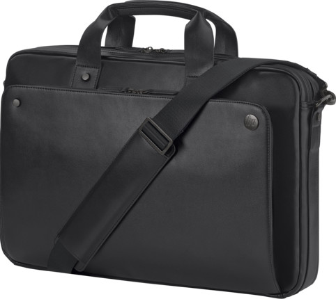 HP Executive 15.6 Leather Top Load (J&J) NEW, černá