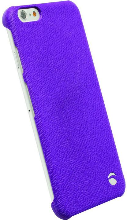 Krusell zadní kryt MALMÖ TextureCover pro Apple iPhone 6, fialová