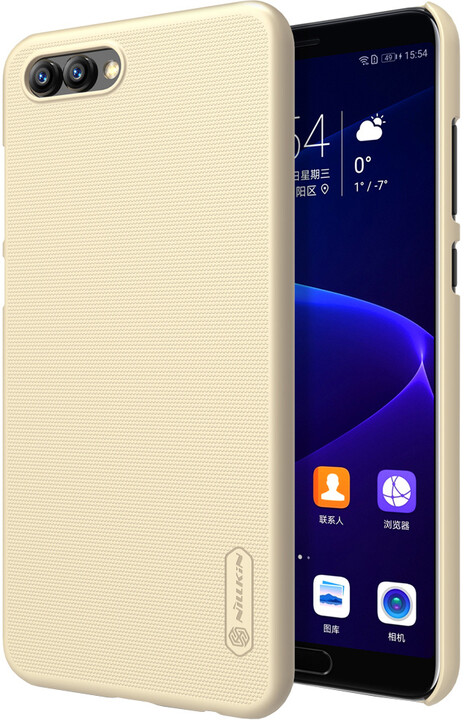 Nillkin Super Frosted zadní kryt pro Honor 10 View, Gold