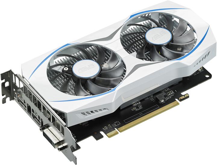ASUS Radeon RX 460 DUAL-RX460-O2G, 2GB GDDR5