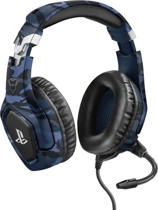 Trust GXT 488 Forze-B, modrá camo