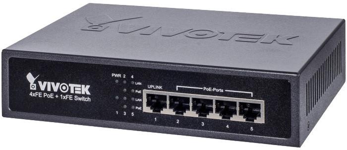Vivotek 5-portový PoE Switch