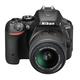 Nikon D5500 + 18-55 VR AF-P, černá